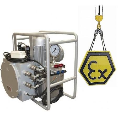 Гидравлический насос во взрывозащищенном исполнении ЕХР (Электрический привод)